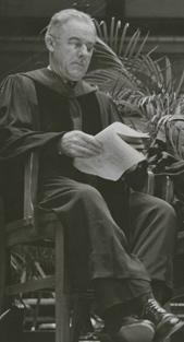 Bishop Herbert Spaugh in 1957. Photo: Frank Jones via ncpedia.org