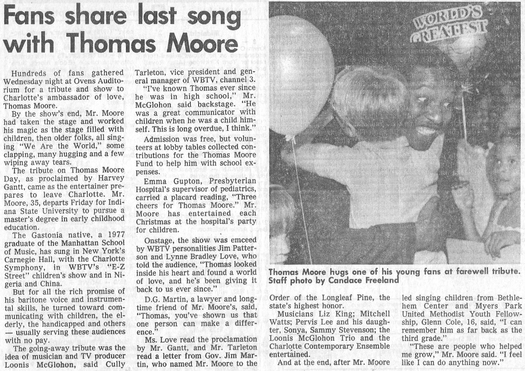 The Charlotte News, May 1985